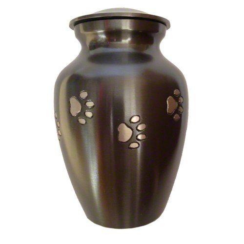 Best Friend Services Mia Paws Series Pet Urn Slate