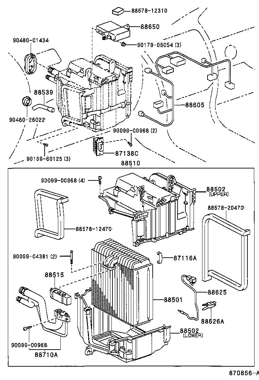 1995 toyota corolla engine diagram heater [ 760 x 1112 Pixel ]