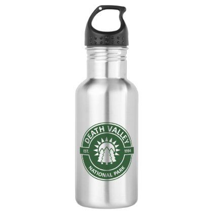 Death Valley National Park Stainless Steel Water Bottle   Zazzle.com