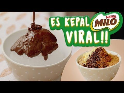 Cara Membuat Es Kepal Milo Viral Resepi Ais Kepal Milo Youtube Ide Makanan Resep Makanan