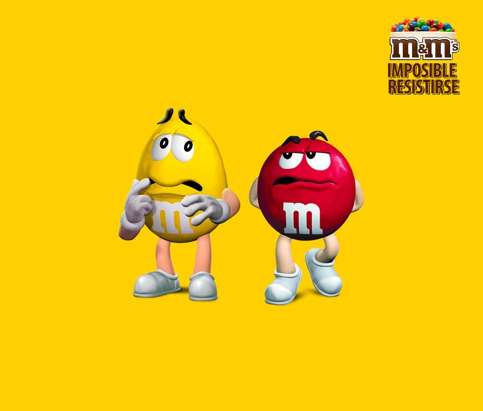 M&M's Chile - Rojo es fanático del verano, pero amarillo le tiene terror a derretirse. ¿Qué consejo le darías para estar al sol ?