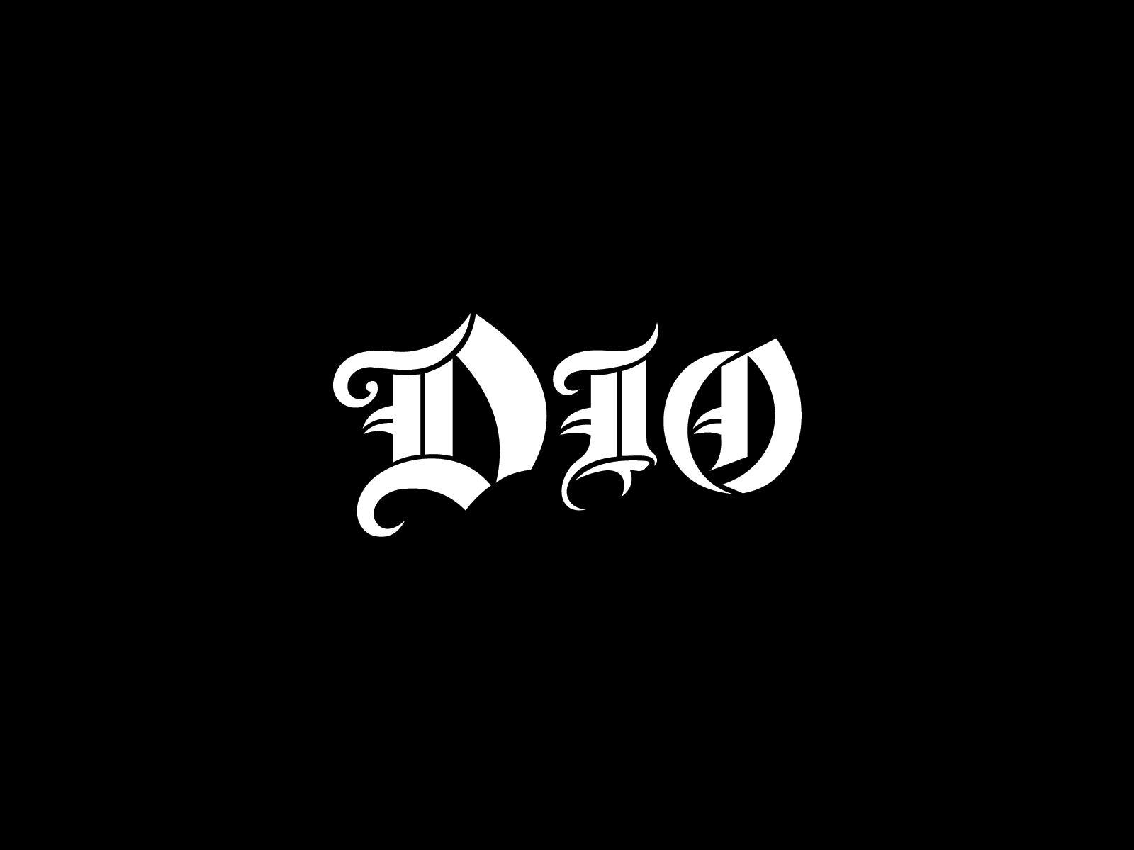 Dio /'Logo/' Baseball Shirt NEW /& OFFICIAL!