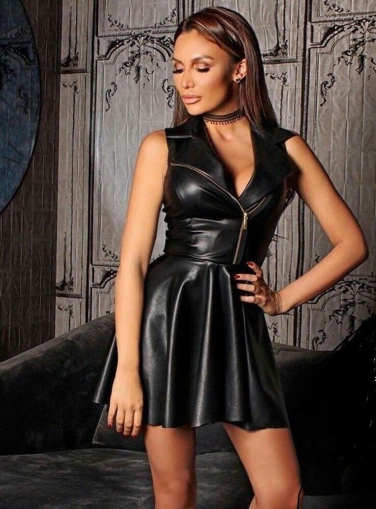 68690e030 WOMEN GENUINE LAMBSKIN LEATHER HOT SEXY PARTY DRESSES PLUS SIZE CUSTOM MADE  #ZAAROON #DRESS #Casual
