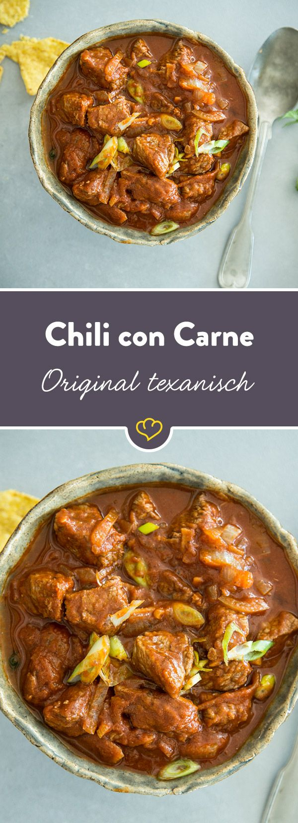 original texanisches chili con carne rezept winter rezepte pinterest essen chili und. Black Bedroom Furniture Sets. Home Design Ideas