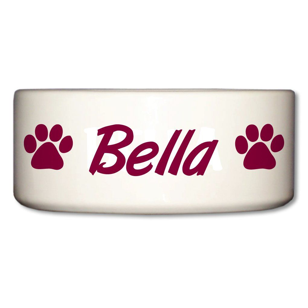 Victorystore Pet And Dog Food Bowl Ceramic Dog Bowl Bella