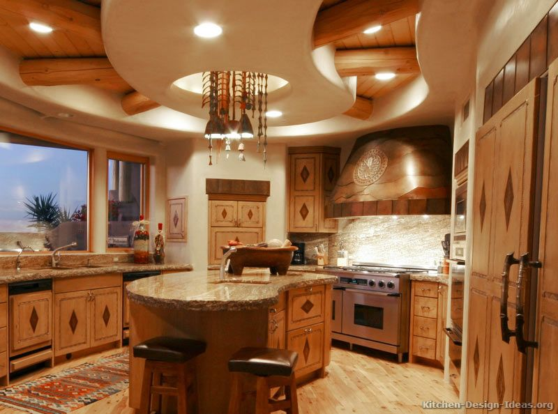Beautiful Kitchen-design-ideas.org Part - 14: Rustic Kitchen Design #03 (Kitchen-Design-Ideas.org)