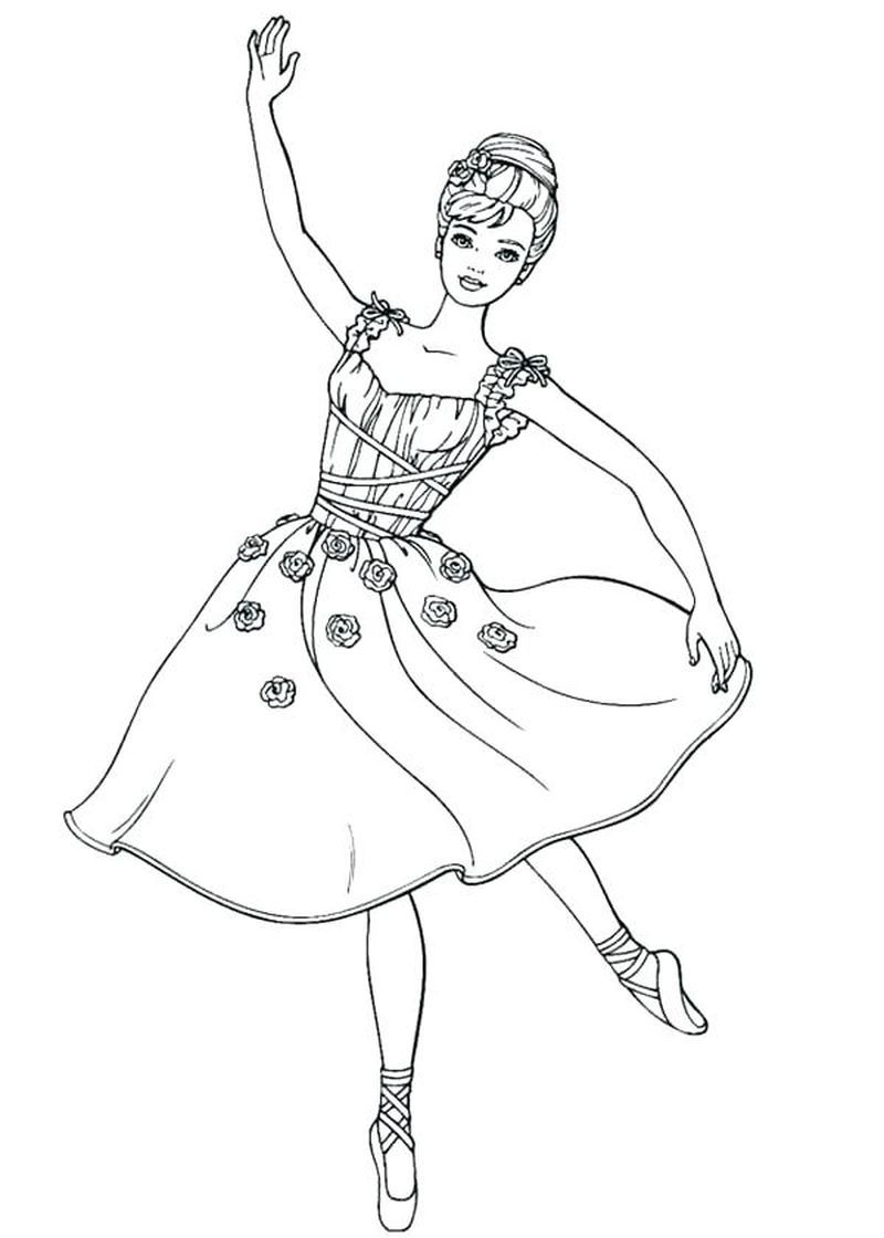 Cute Ballerina Coloring Pages Ideas Free Coloring Sheets Dance Coloring Pages Barbie Coloring Pages Princess Coloring Pages