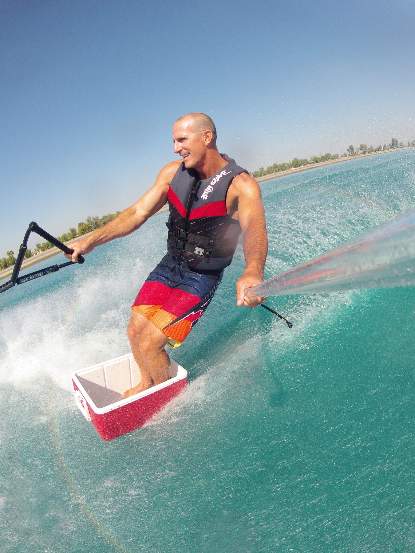 Free Water Ski Photos Gopro Cooler Blue Best Classic Water Skiing Tricks Water Skiing Skiing Images Skiing