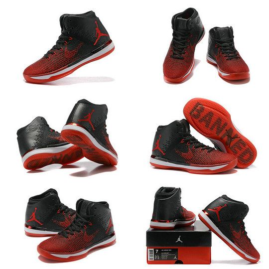 reputable site 756ea 52e7b Latest Air Jordan XXX1 31 Banned Black University Red White 845037 001 Size  10