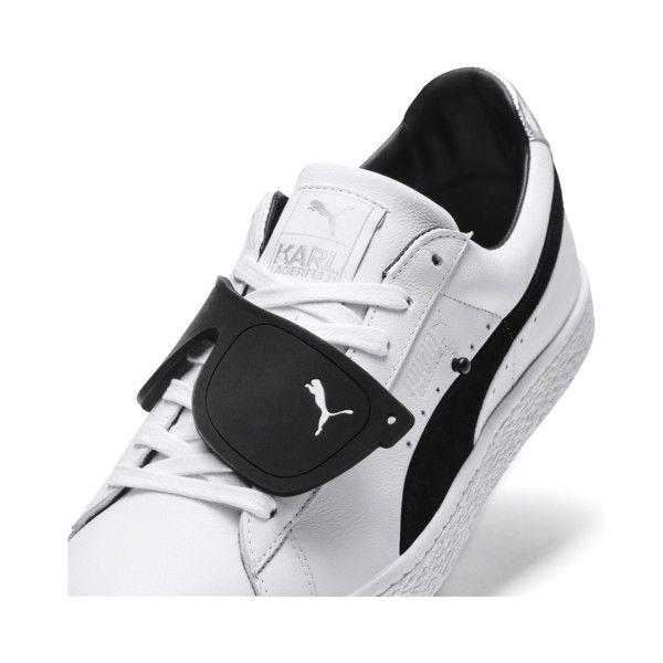 c4deab4743 Image 6 of PUMA x KARL LAGERFELD Suede Classic Sneakers, Puma White-Puma  Black, medium