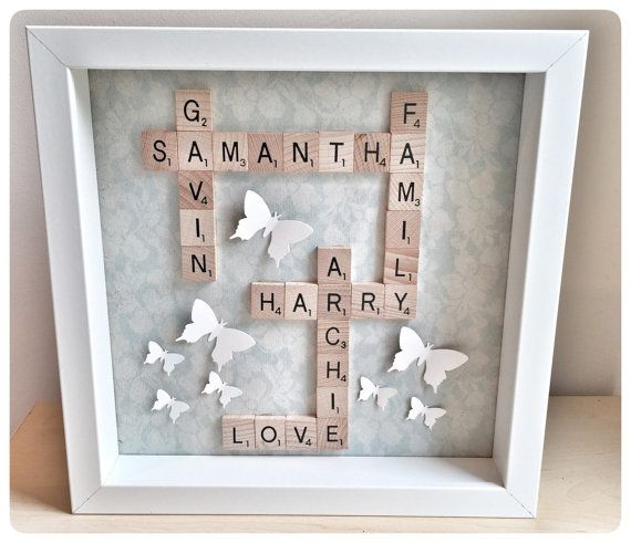 Giant Scrabble pieces MDF Craft Weddings Birthdays party special occaision