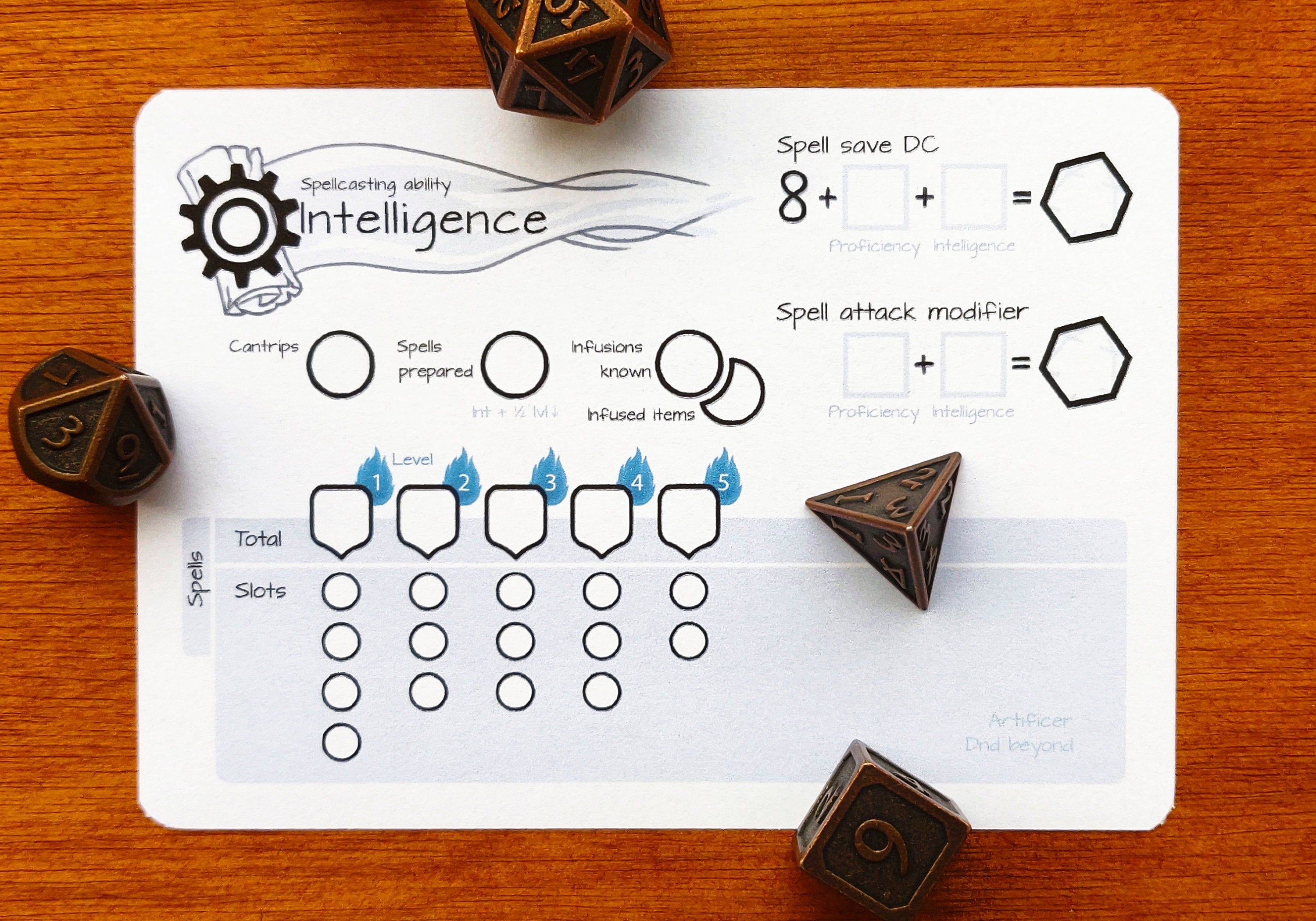 Artificer Spell Slot Tracker Dnd 5e Pdf In 2020 Dnd Dungeons And Dragons 5e Slot I have no prior knowledge of artificers in previous editions of d&d, nor any knowledge of the eberron world (since this came up. artificer spell slot tracker dnd 5e
