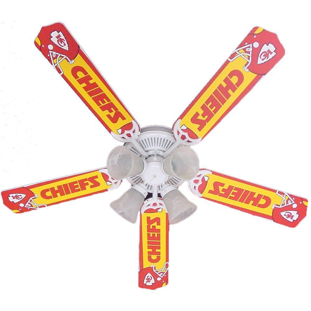 Kansas city chiefs 5 blade ceiling fan ceiling fan kansas and blade kansas city chiefs 5 blade ceiling fan mozeypictures Choice Image