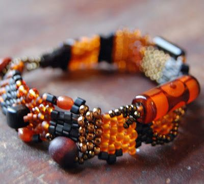 Beading Arts: Seed bead artist: Cheri Meyer
