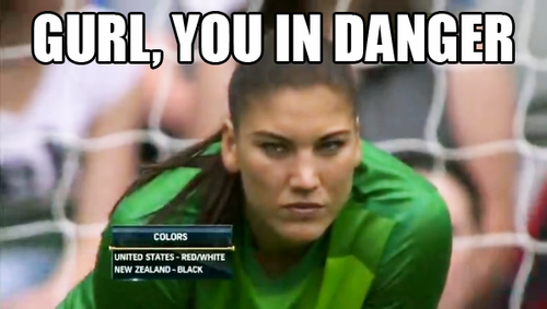Hope Solo - Don't Mess With Our Hope!
