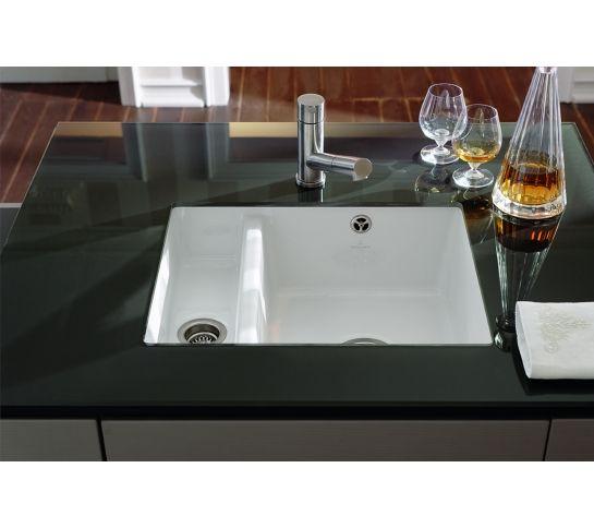 Villeroy  Boch Subway 60XU 15 Bowl Undermount Ceramic Plus Sink