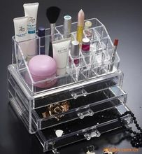 gros rangement plastique maquillage