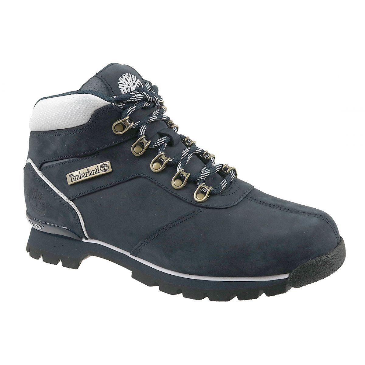 Buty Zimowe Timberland Split Rock 2 M 6569r Granatowe Winter Boots Mens Shoes Uk Boots