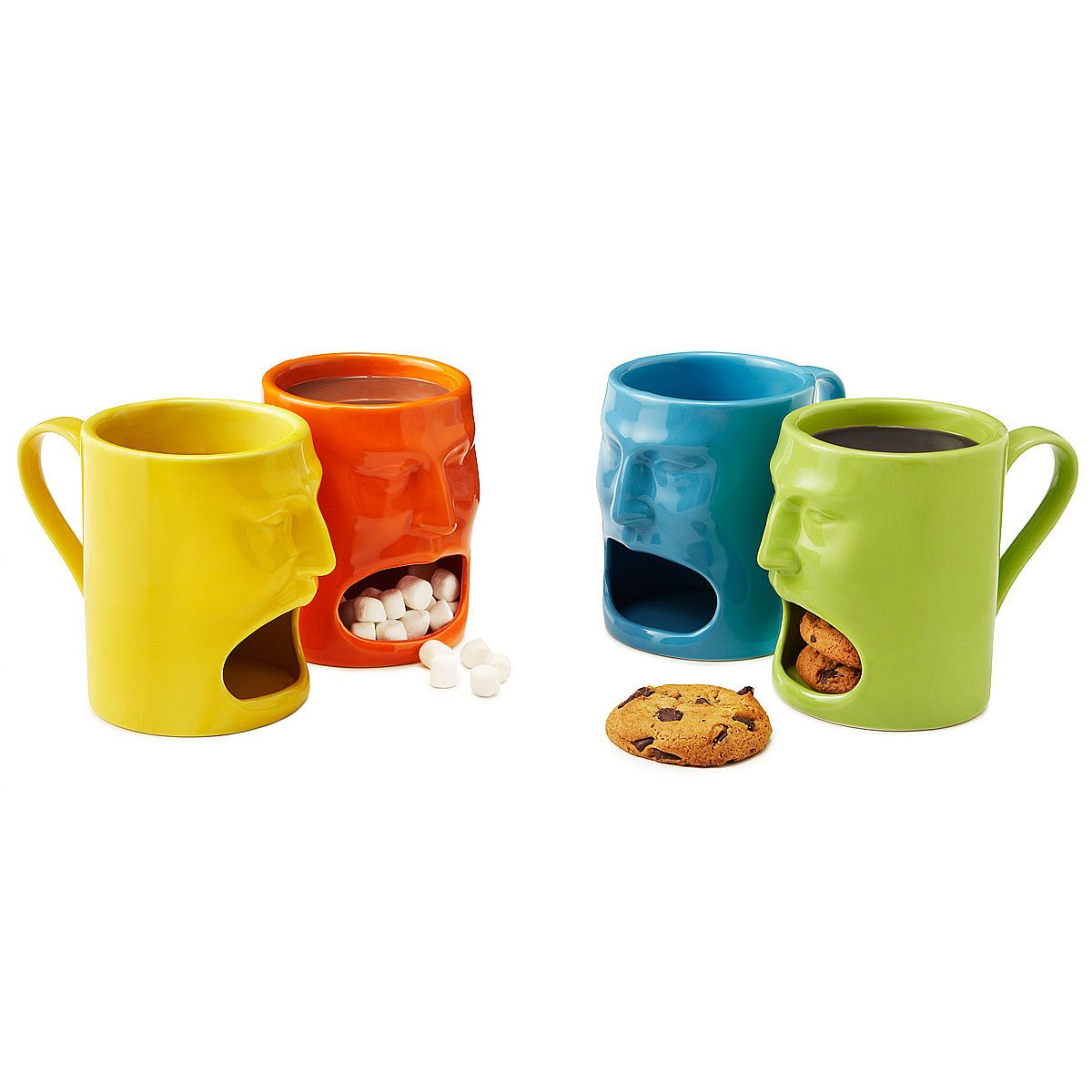 Amusing Hingyour Warm Or Face Mugs Set Coffee Cup Ny Shaped Coffee Mugs Ny Shaped Mugs Uk Se Ceramic Mugs Have A Cubby Face Shapes furniture Funny Shaped Mugs