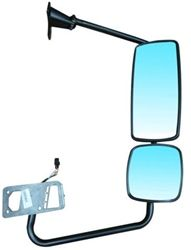 Mirror Rh Passenger Side Power With Manual Aux Heated For Freightliner Columbia Freightliner Mirror Heavy Duty Truck