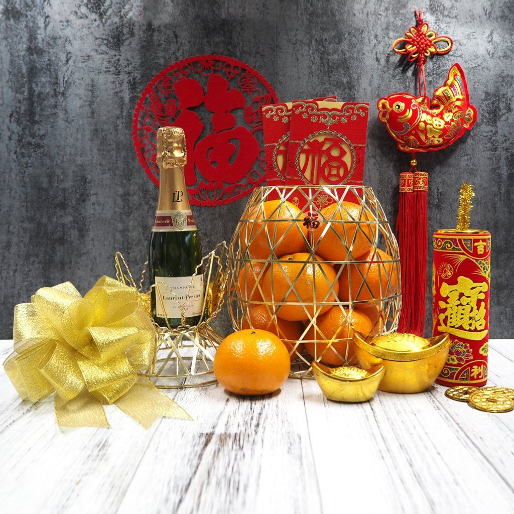 Pop the champagne for this lunar new year. Our