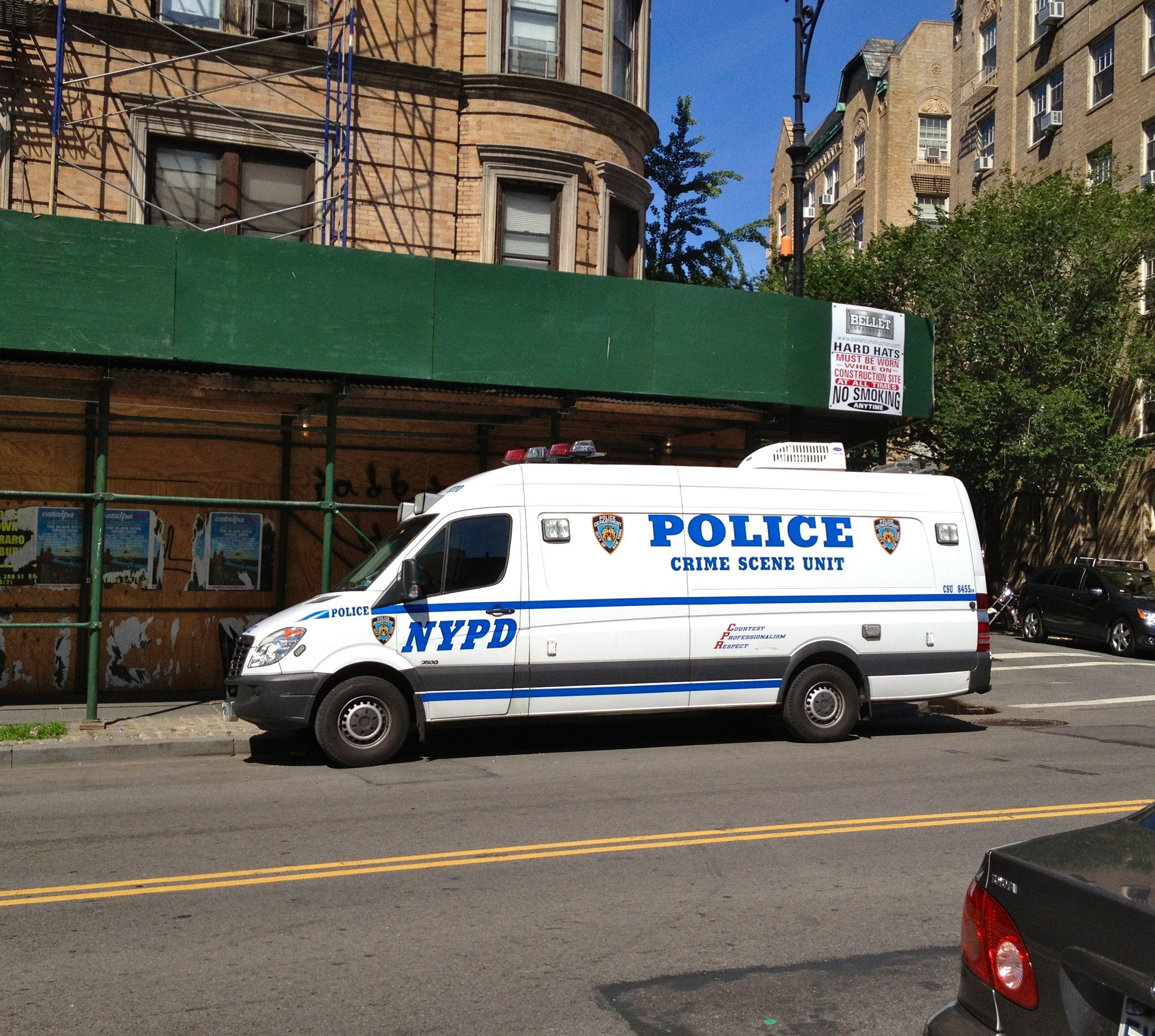 NYPD Crime Scene Unit Photo By Www.nyfirestore.com