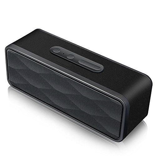 24-Hour Playtime Dual Driver Speakers Best Portable Wireless Speaker for Samsung Wireless Bluetooth Speaker With HD Sound and Bass 66 ft Long Bluetooth Wireless Range iPhone /& More Built-in Mic
