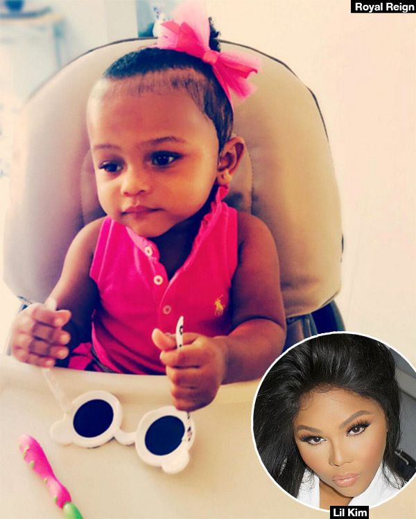 Lil Kim Shares Adorable Photo Of Daughter Royal Reign Pic Lil Kim Daughter Lil Kim Lil Kim Baby