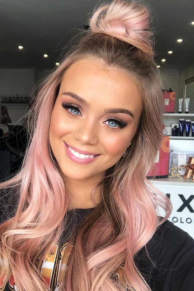 Photo of Fun Hairstyles for Long Pink Hair | LoveHairStyles.com