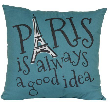 Mainstays Paris Decorative Pillow Pillows Walmart And Throw Pillows Classy Decorative Pillows At Walmart