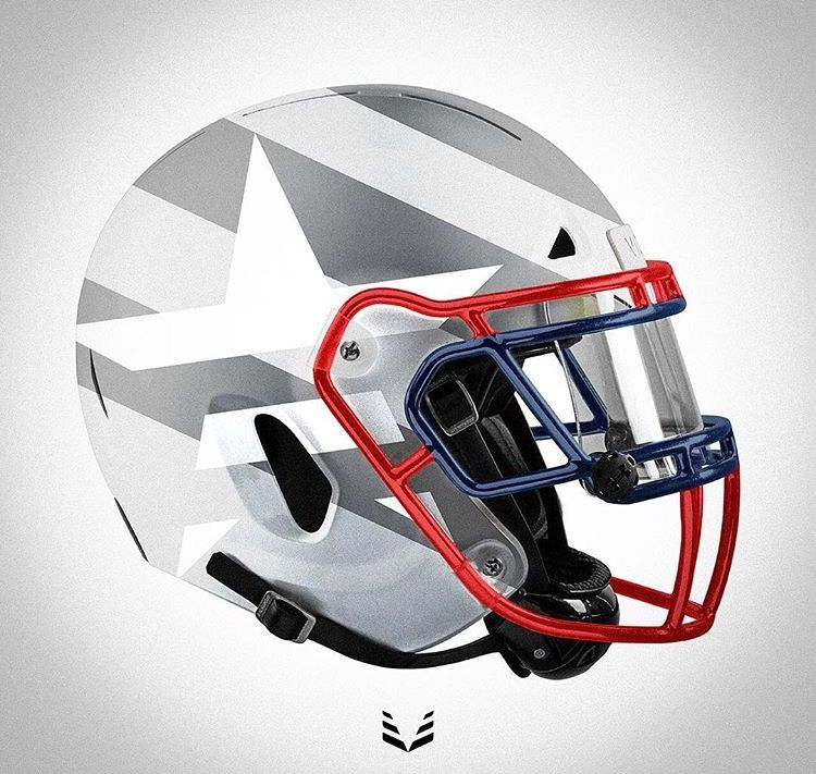 The All New Vicis Football Helmet With A Shoc Clear Mirror