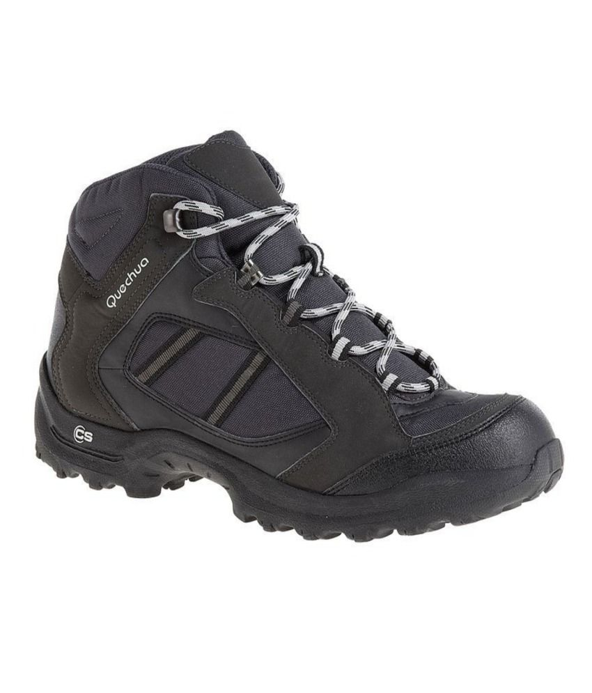 dcfd3991aa3 QUECHUA Arpenaz 50 Mid Men's Hiking Boots By Decathlon - Snapdeal ...