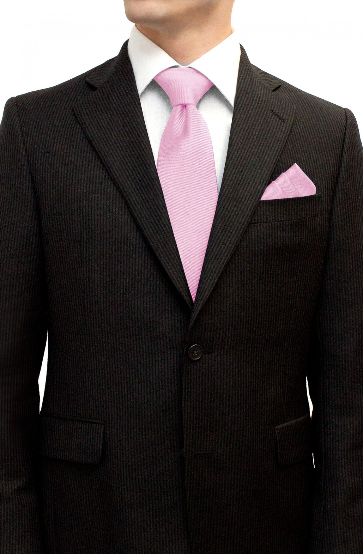 Baby Pink Tie And Pocket Square Set Tie Amp Pocket Square
