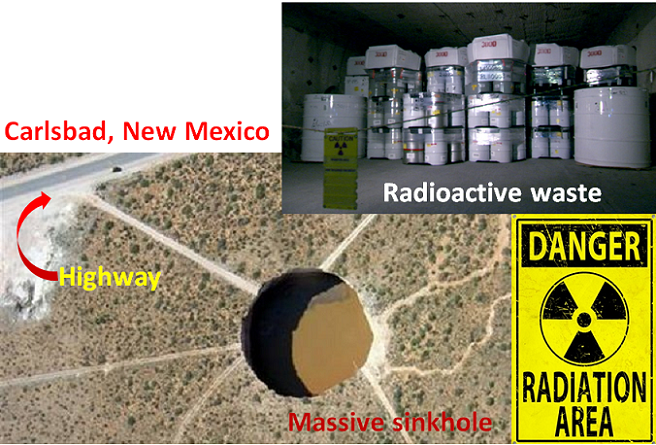 CREWS FIND DAMAGED MATERIAL IN NUKE DUMP. Crews searching for the source of a radiation release from government's underground nuclear waste dump in NM have found damaged bags of minerals in the mine, but officials say they have yet to identify what caused the radiation leak. #Carlsbad #radiationleak #WIPP #magnesiumchloride #notgoodnews #damagedbags #awareness #beprepared #besafe #prayers