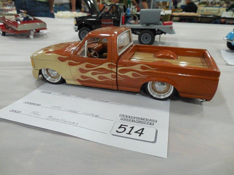 Custom pick up Lowrider model cars, Plastic model cars