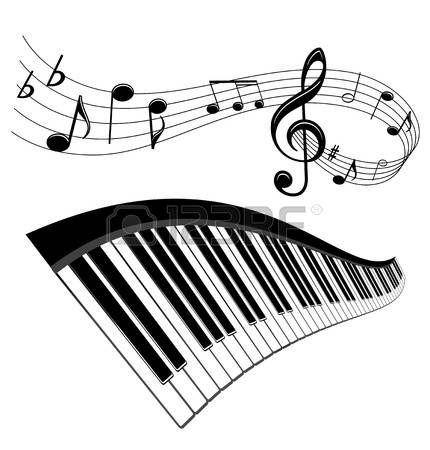 47+ Piano keyboard keys clipart information