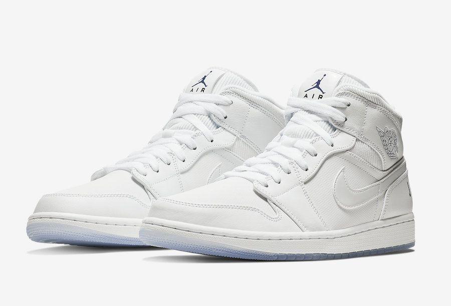 9acf50825727 Air Jordan 1 Mid White Ice BQ6578-100 - Sneaker Bar Detroit