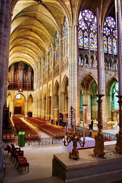 Saint-Denis Basilica Paris