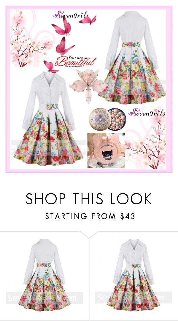"""Sevengrils-40"" by amra-2-2 ❤ liked on Polyvore"
