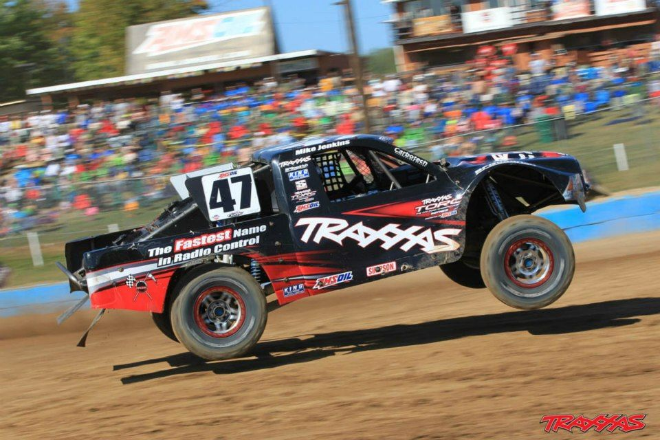 Traxxas' Mike Jenkins Remote control cars, Trophy truck