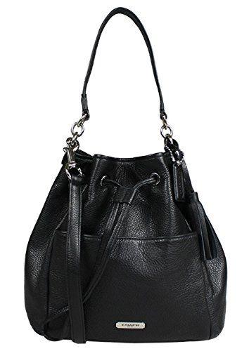 Coach Avery Women s Bucket Bag Leather Handbag Black - List price   358.00  Price   145.00 Saving   213.00 (59%) cd1243dec2531