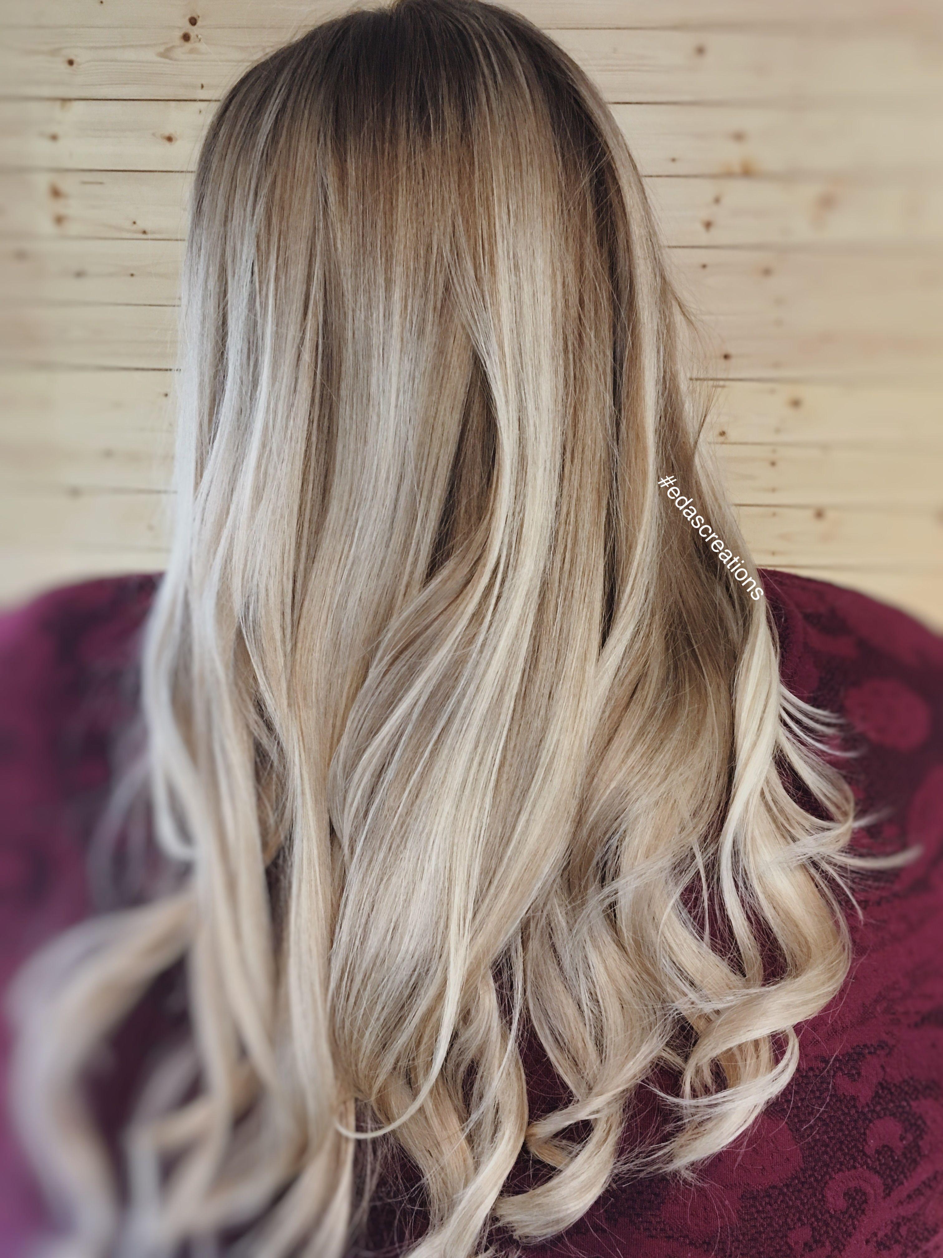 Blonde and balayage edascreations