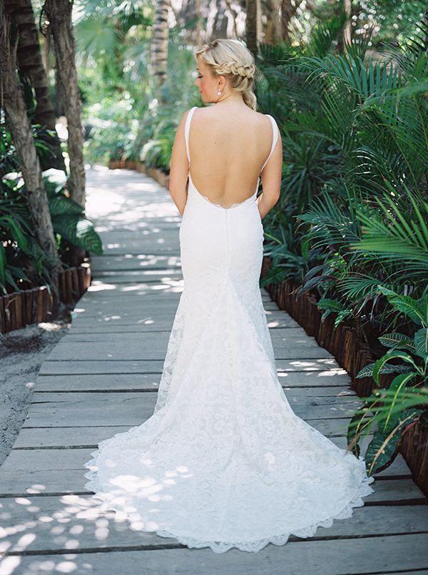 Beach Wedding Dress Rustic Chic Fall