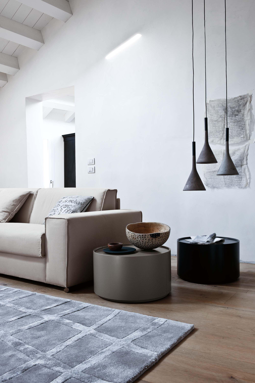 Novamobili beistelltisch allout mit schublade interiors for Beistelltisch c form