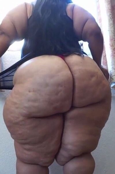 bbw filled Black ass cellulite