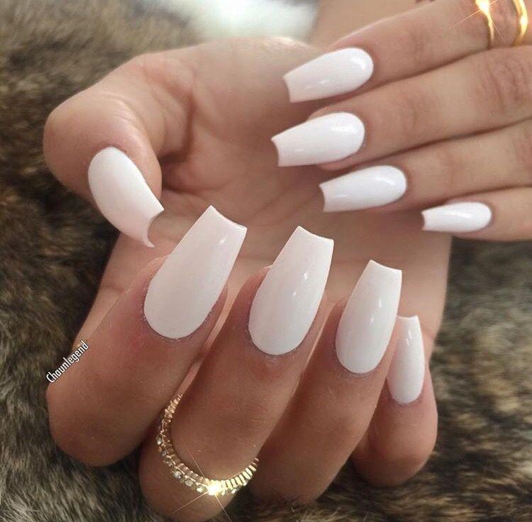 Pin by Princess Tayuh 👑 on Nails   Pinterest   White manicure, Dope ...