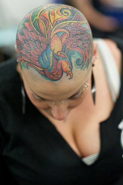 Now THAT is a kickass lady with some kickass ink! (Body Art Expo by ...