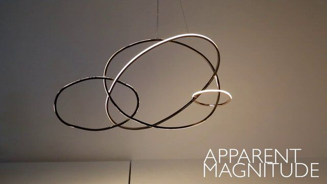Apparent Magnitude - Niamh Barry - Contemporary Irish Artist. This light sculpture deals with how we interpret light and dark, negative and ...