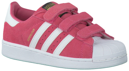 Roze Adidas Sneakers SUPERSTAR CF