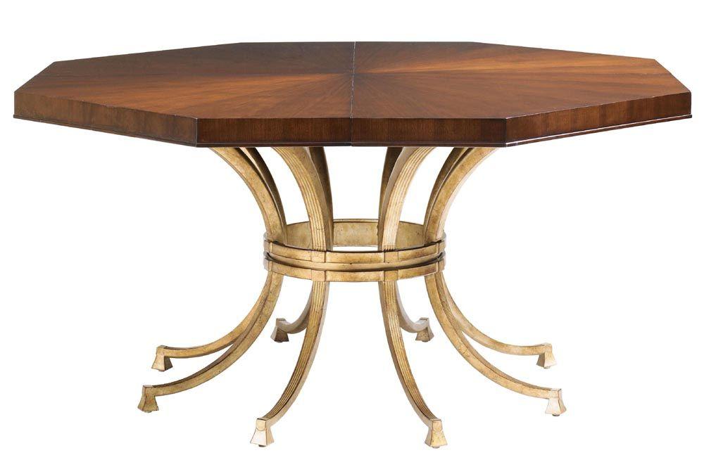 Lx 0340 875c Lexington St Tropez Regis Dining Table